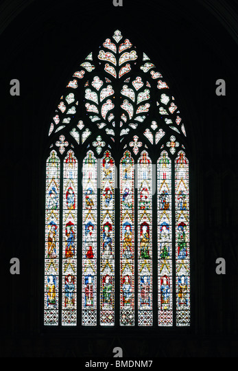 York minster window uk stock photos york minster window for Rose window york minster