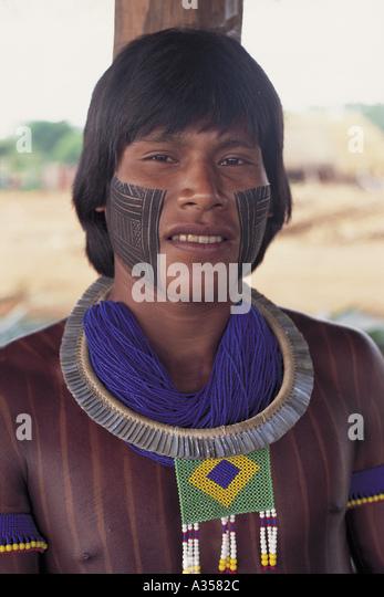 Kayapo Tribe Stock Photos Amp Kayapo Tribe Stock Images Alamy