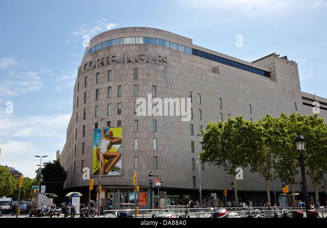 Corte ingles stock photos corte ingles stock images alamy - El corte ingles plaza cataluna barcelona ...