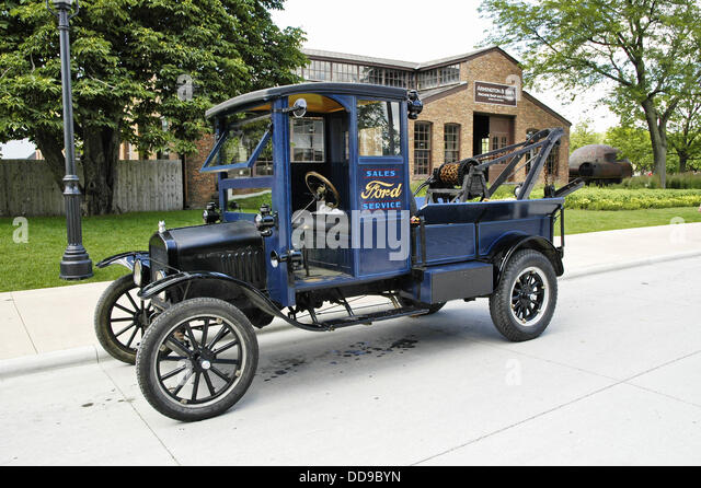 Ford model t truck stock photos ford model t truck stock for Motor city towing dearborn