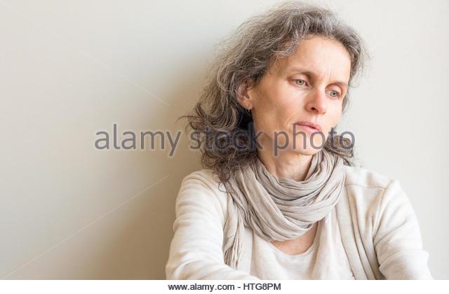 depressed mature woman stock photos  u0026 depressed mature woman stock images
