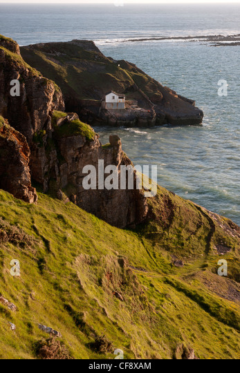 The Worms Head   Kitchen Corner at Rhossili south western tip Gower  Peninsula designated area of. Kitchen Rhossili Gower Wales Stock Photos   Kitchen Rhossili Gower