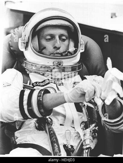 Portrait In Spacesuit Nasa Astronaut Stock Photos ...