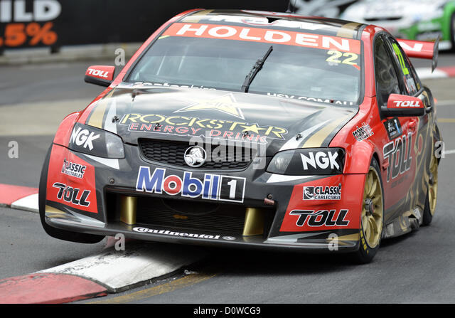 01122012 HomebushAustralia Holden Racing Teams James Courtney In His Commodore VE2