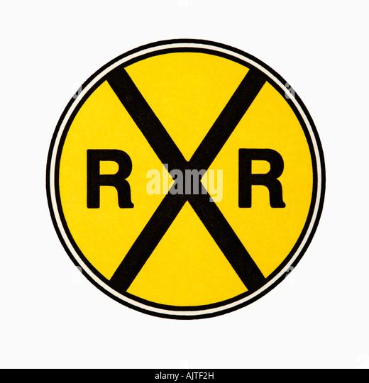 railroad crossing sign stock photos amp railroad crossing