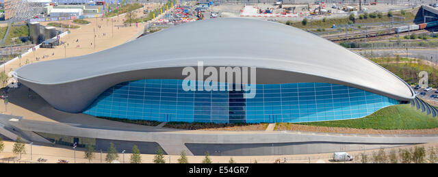 the london aquatics centre re opened after the 2012 olympics and the removal of temporary seating