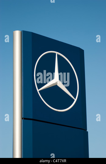 Prestige cars stock photos prestige cars stock images for Mercedes benz sign in