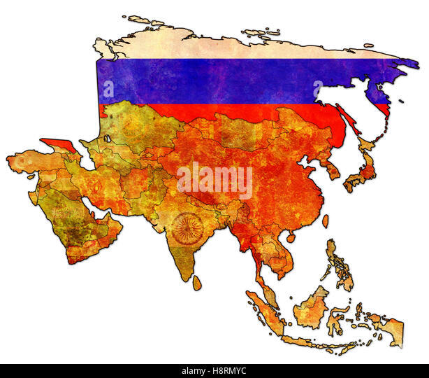 Russia Political Map Stock Photos Russia Political Map Stock - Political map of russia