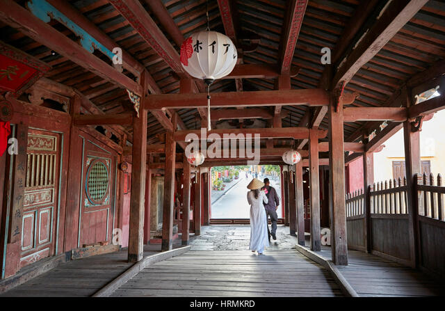 Japanese Covered Bridge Hoi An Ancient Town Quang Nam Province Vietnam