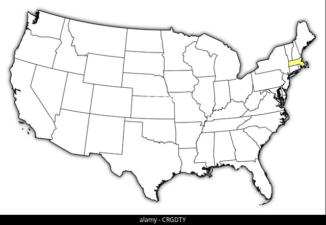 Massachusetts Usa America Ma Cut Out Stock Images Pictures Alamy