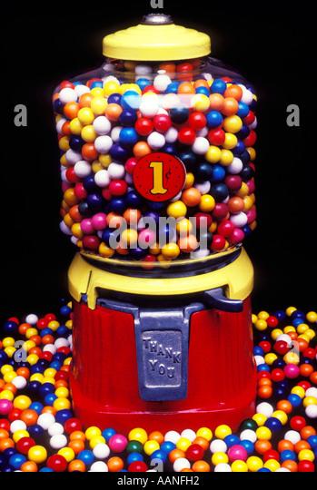 the bubble gum machine