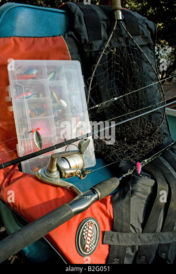 tackle box stock photos & tackle box stock images - alamy, Fishing Rod