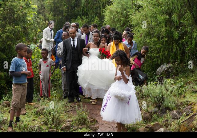 Wedding ceremony in gurage
