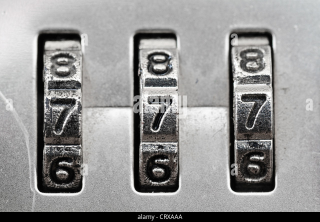 how to set a combination lock
