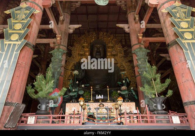 Nara Big Buddha Stock Photos & Nara Big Buddha Stock ...