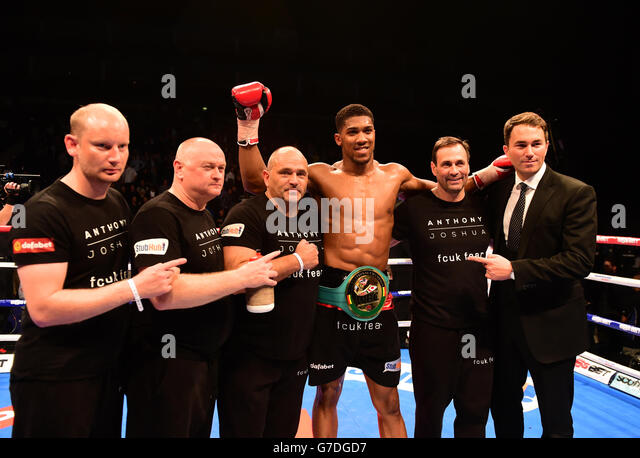 grosvenor casino anthony joshua