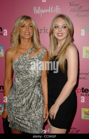 May 13, 2010 - Los Angeles, California, U.S. - MARLA MAPLES, TIFFANY TRUMP Attending The 12th Annual Young Hollywood - Stock Image