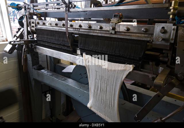 Knitting Equipment London : Knitting machine stock photos