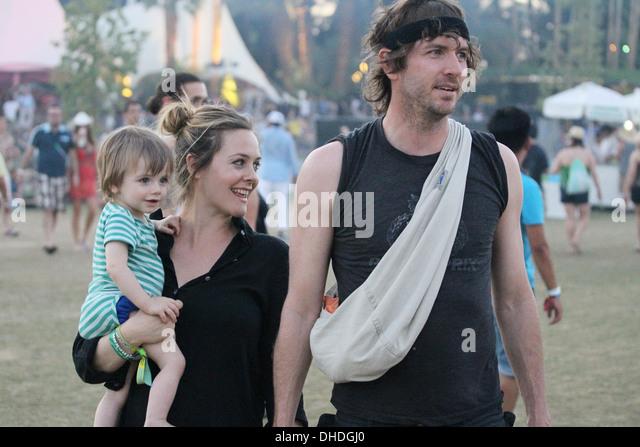 Alicia Silverstone Husband Christopher Jarecki Stock ...