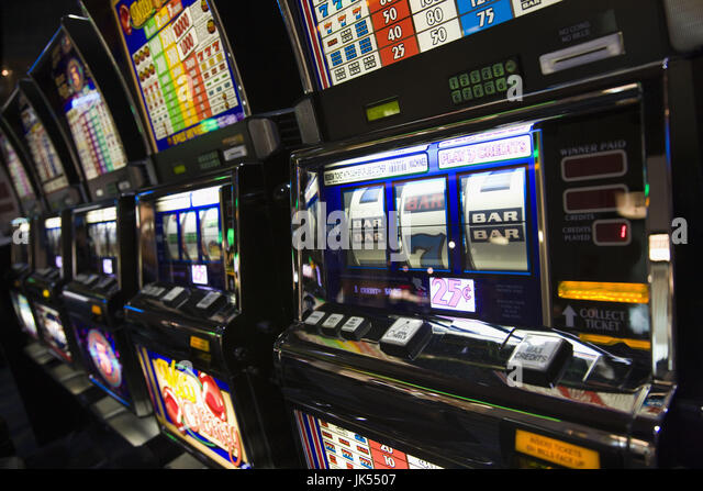 Slot machines at las vegas airport