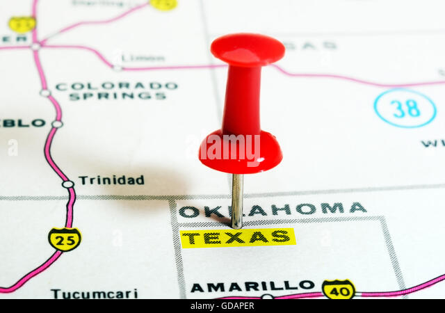 Map Of Texas State Stock Photos Map Of Texas State Stock Images - Usa map texas state