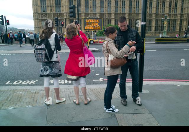 Westminster bridge gambling