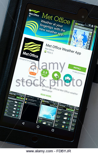 The met office stock photos the met office stock images alamy - Www met office weather forecast ...
