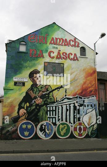 1916 dublin easter rising commemoration republican wall for Easter rising mural