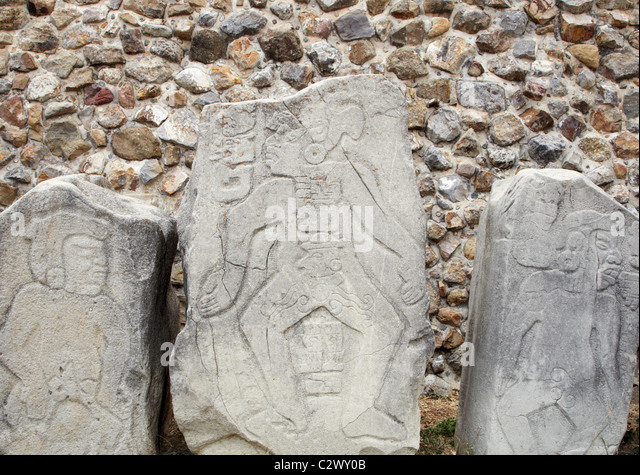 Ancient stone carvings stock photos