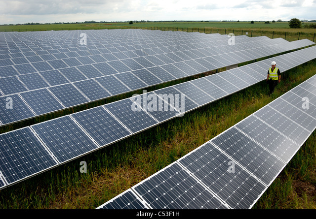 Solar Panel Farm Leicestershire Solar Panel Farm
