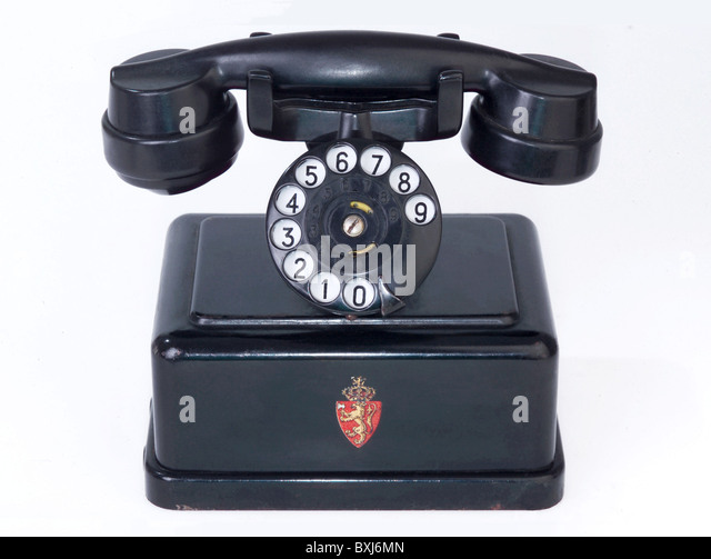 Telephone By A S Elektrisk Bureau Stock Photos Telephone By A S