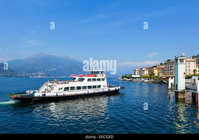 Lake Como Italy Car Stock Photos Lake Como Italy Car Stock