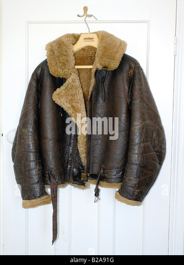 Leather Flying Jacket Stock Photos & Leather Flying Jacket Stock ...