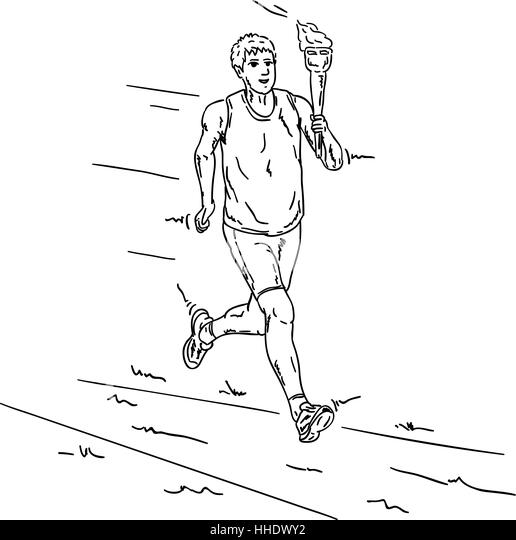 sport sports colour illustration paint draw cartoon sport - Sports Pictures To Colour