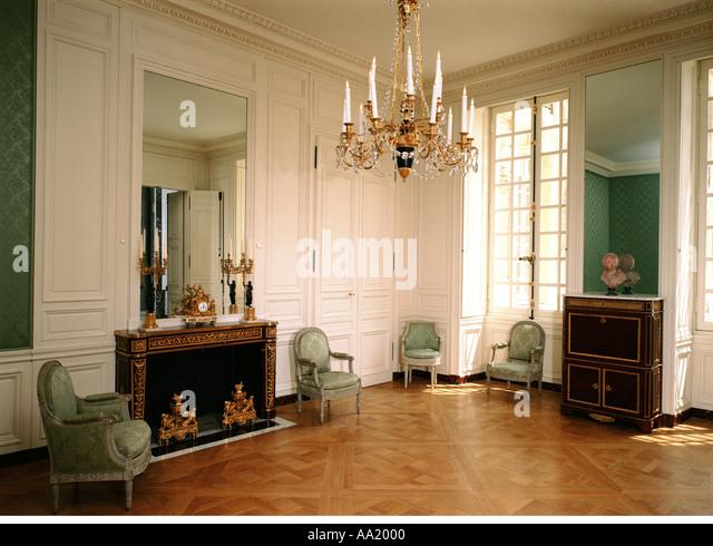 Versailles blanc stock photos versailles blanc stock for Chambre de la reine versailles