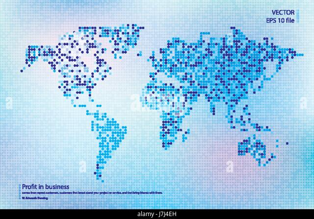 World map vector dot stock photos world map vector dot stock dotted world map vector illustration business concept about world map global elements blue technology publicscrutiny Gallery