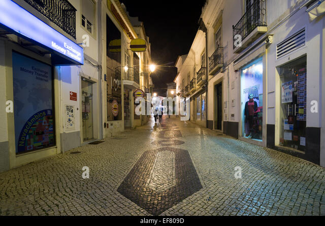 lagos at night algarve stock photos lagos at night algarve stock images alamy. Black Bedroom Furniture Sets. Home Design Ideas