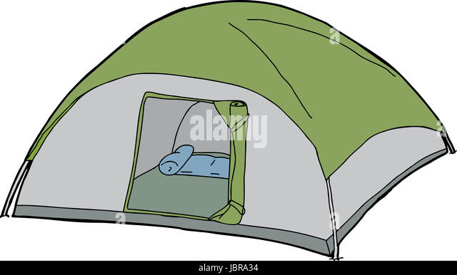 Cartoon tent with open flap over isolated white background - Stock Image  sc 1 st  Alamy & Tent Cut Out Stock Photos u0026 Tent Cut Out Stock Images - Alamy