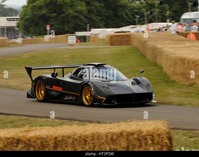 2009 Pagani Zonda R, Goodwood Festival Of Speed Artist: Unknown.   Stock  Image
