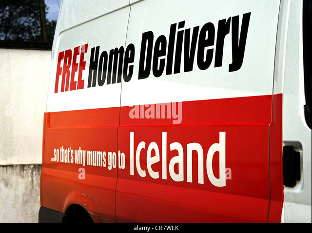 Iceland delivery slot times poking holes