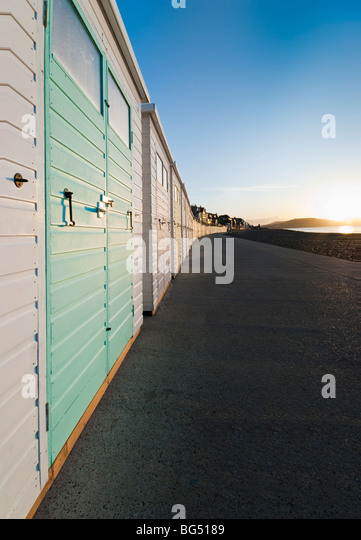 Lyme Regis Beach Huts For Sale