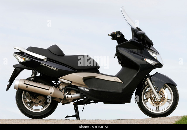 kymco xciting 500 scooter stock photos kymco xciting 500. Black Bedroom Furniture Sets. Home Design Ideas