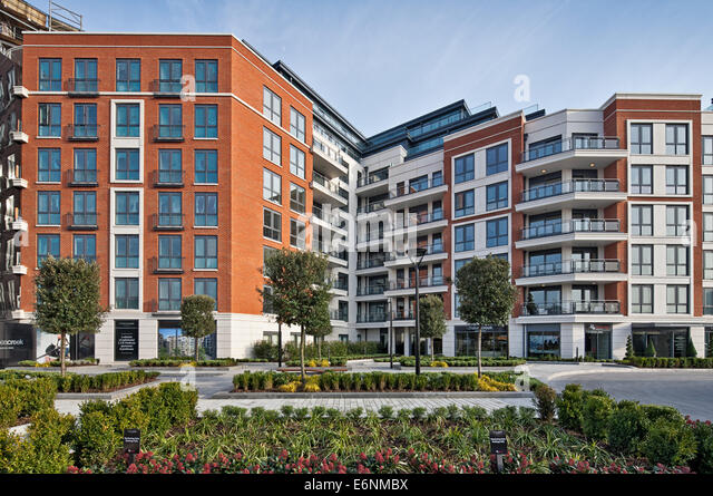 Chelsea Creek Luxury Apartments In London.   Stock Image