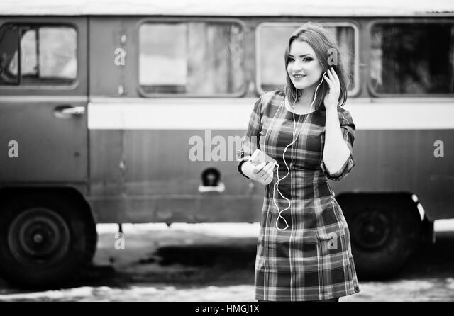 Transport images black and white dress