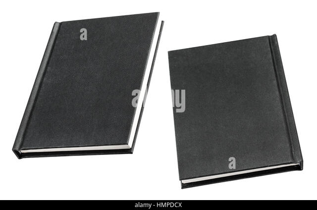 Black Book Cover Background : Black book cover isolated on stock photos