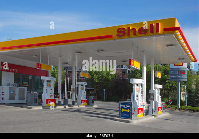 Gas station signs stock photos gas station signs stock images alamy - Find nearest shell garage ...