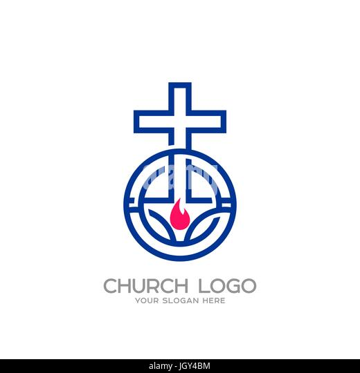 Christian Symbols Cut Out Stock Images Pictures Alamy