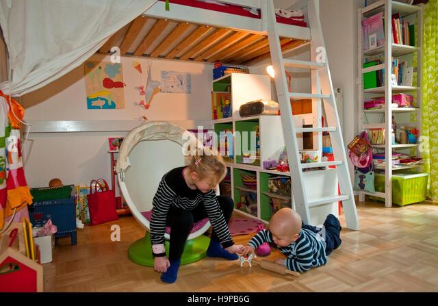 Kinderzimmer stock photos kinderzimmer stock images alamy for Hamburger kinderzimmer