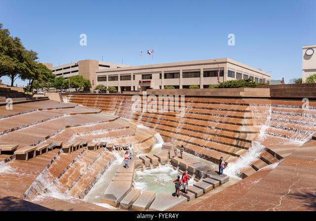 Fort Worth Water Garden Stock Photos Fort Worth Water Garden Stock Images Alamy