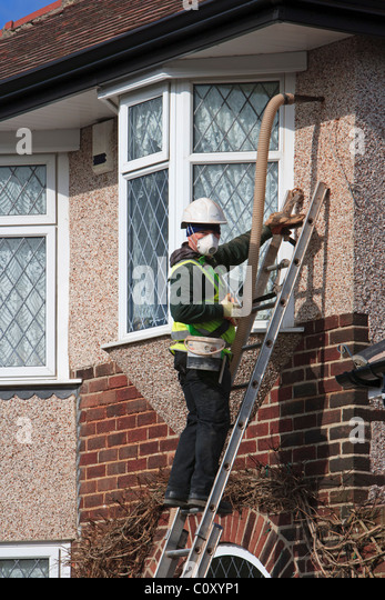 Wall insulation stock photos wall insulation stock images alamy for No insulation in exterior walls